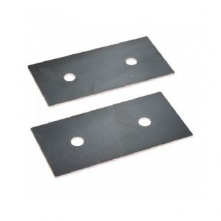 Hurley 14G Stainless Steel Backing Plates